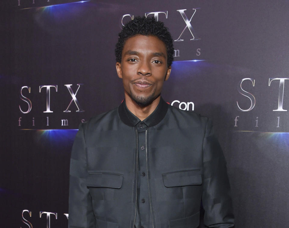 <p>Chadwick Boseman is also expected to win for his work in <em>Ma Rainey's Black Bottom</em>, making him the first posthumous acting win since Heath Ledger's take on the Joker in <em>The Darkk Knight. </em>(File photo/Star Max)</p>