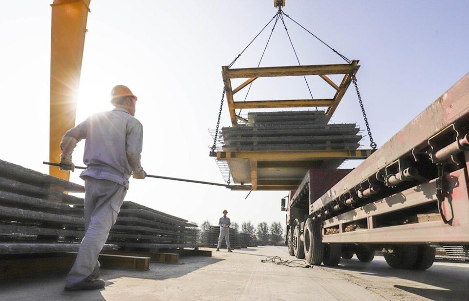 Critics argue that China's SOEs operate at a low level of efficiency and on a foundation of unfair competition. Photo: Xinhua