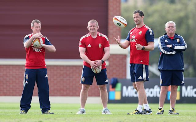 <span>Graham Rowntree has coached in three Lions tours</span> <span>Credit: DAVID ROGERS </span>
