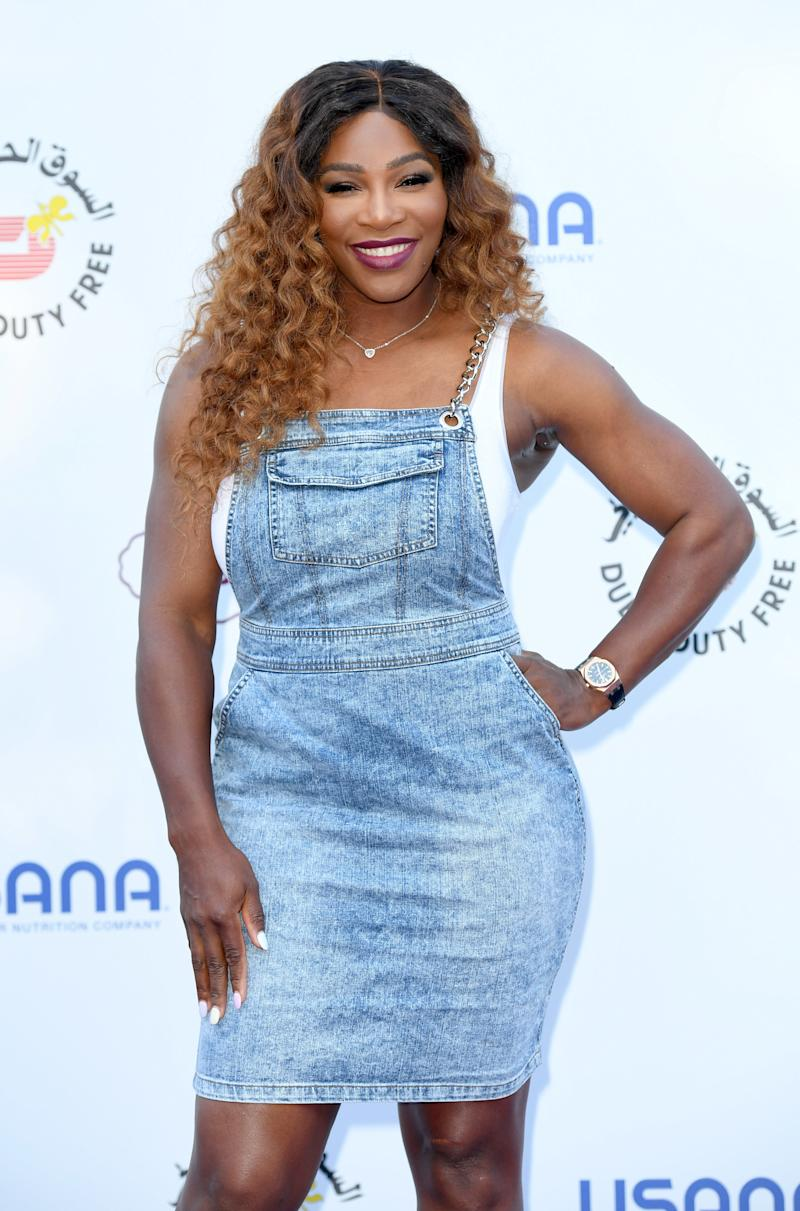 Serena Williams Loves Shopping for Curly-Hair Products at Target