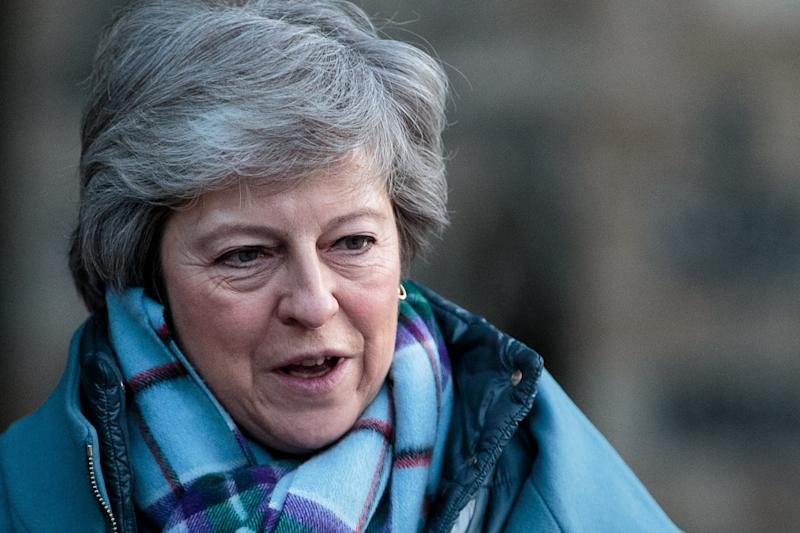 Under pressure on Brexit: Theresa May (Jack Taylor/Getty Images)
