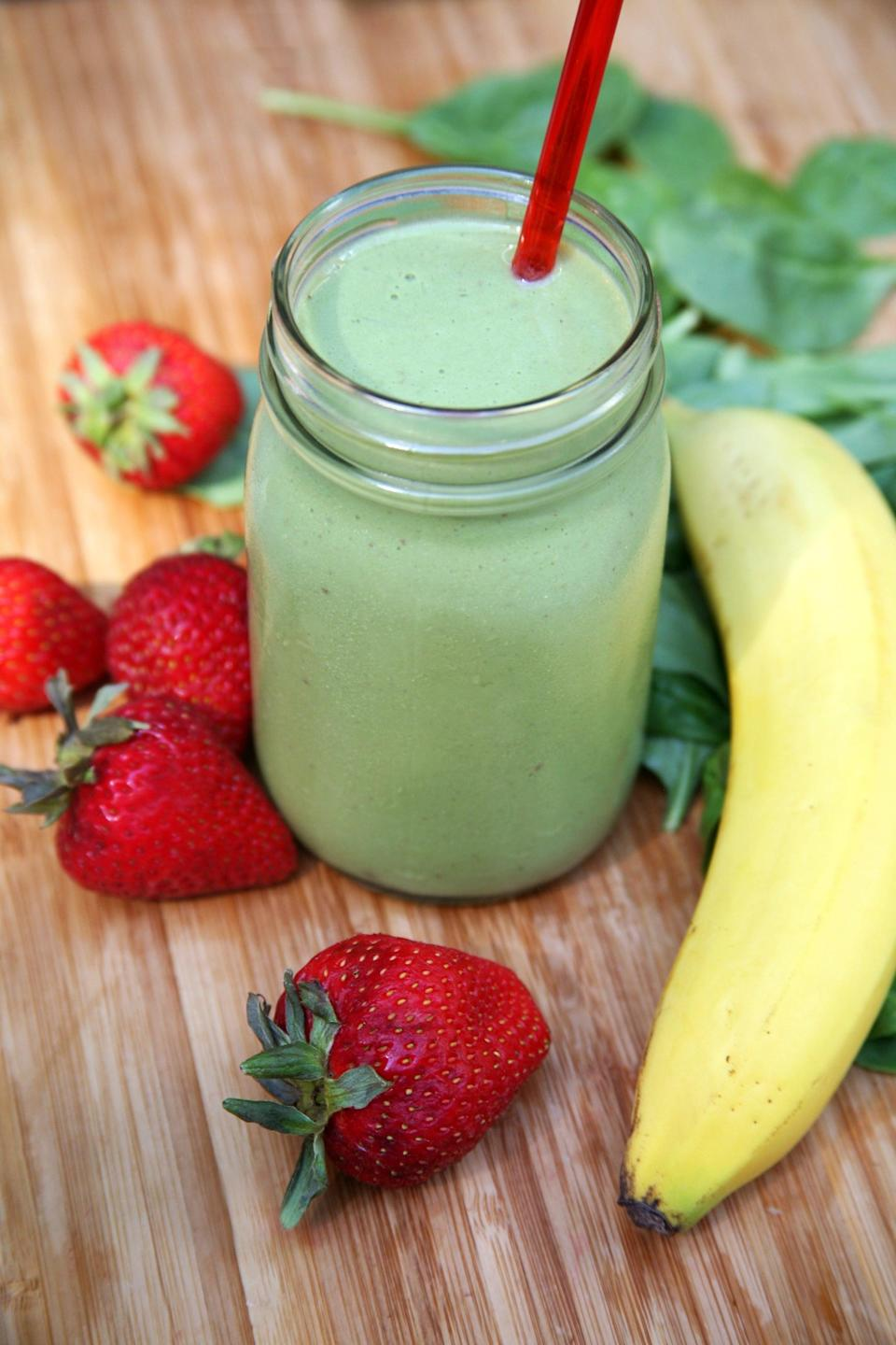 "<p>For the modest and shy Virgo, you'll love this reliably flavored smoothie that may be made with super basic ingredients but is always satisfying.</p> <p><strong>Get the recipe</strong>: <a href=""https://www.popsugar.com/fitness/photo-gallery/35401577/image/35514753/Smoothie-Recipe-2-Vegan"" class=""link rapid-noclick-resp"" rel=""nofollow noopener"" target=""_blank"" data-ylk=""slk:strawberry banana smoothie"">strawberry banana smoothie</a></p>"