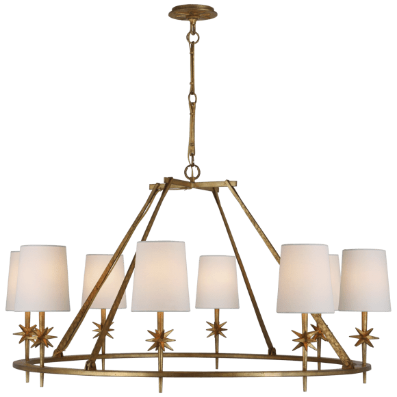 "<p>circalighting.com</p><p><strong>$799.00</strong></p><p><a href=""https://www.circalighting.com/etoile-large-chandelier-s5318/"" rel=""nofollow noopener"" target=""_blank"" data-ylk=""slk:Shop Now"" class=""link rapid-noclick-resp"">Shop Now</a></p><p>Add an ethereal air to your first post-COVID dinner party. </p>"