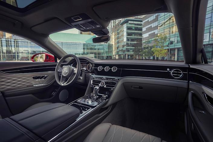 The luxe interiors of a Bentley have been a staple of the brand, with the latest iteration being no exception.