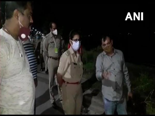 An image from the site where the accused was arrested after an encounter. [Photo/ANI]