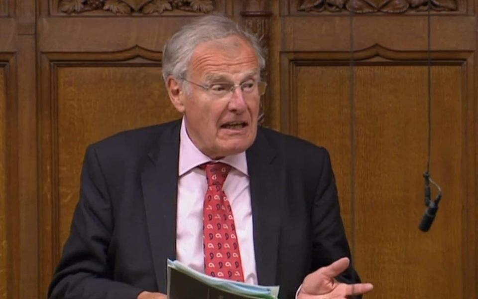 Sir Christopher Chope is the MP for Christchurch - PA