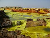 <p>The Danakil Depression is the hottest place on earth year-round. You'll be better off going in the Winter than in the Summer, but keep in mind that it's still really hot during the colder months, although it's more bearable. </p>