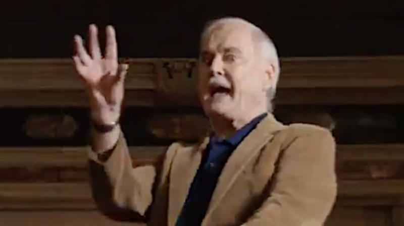 John Cleese's Bumbling Guide To Football Is A Total Touchdown