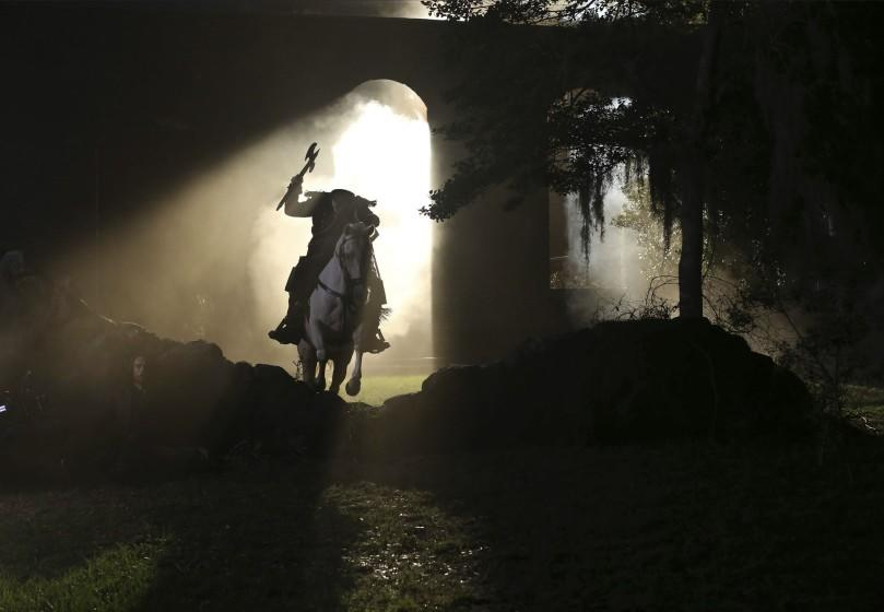 "In ""Sleepy Hollow,"" it was the headless horseman that jump-started the apocalypse <span class=""copyright"">(Fred Norris / Fox)</span>"