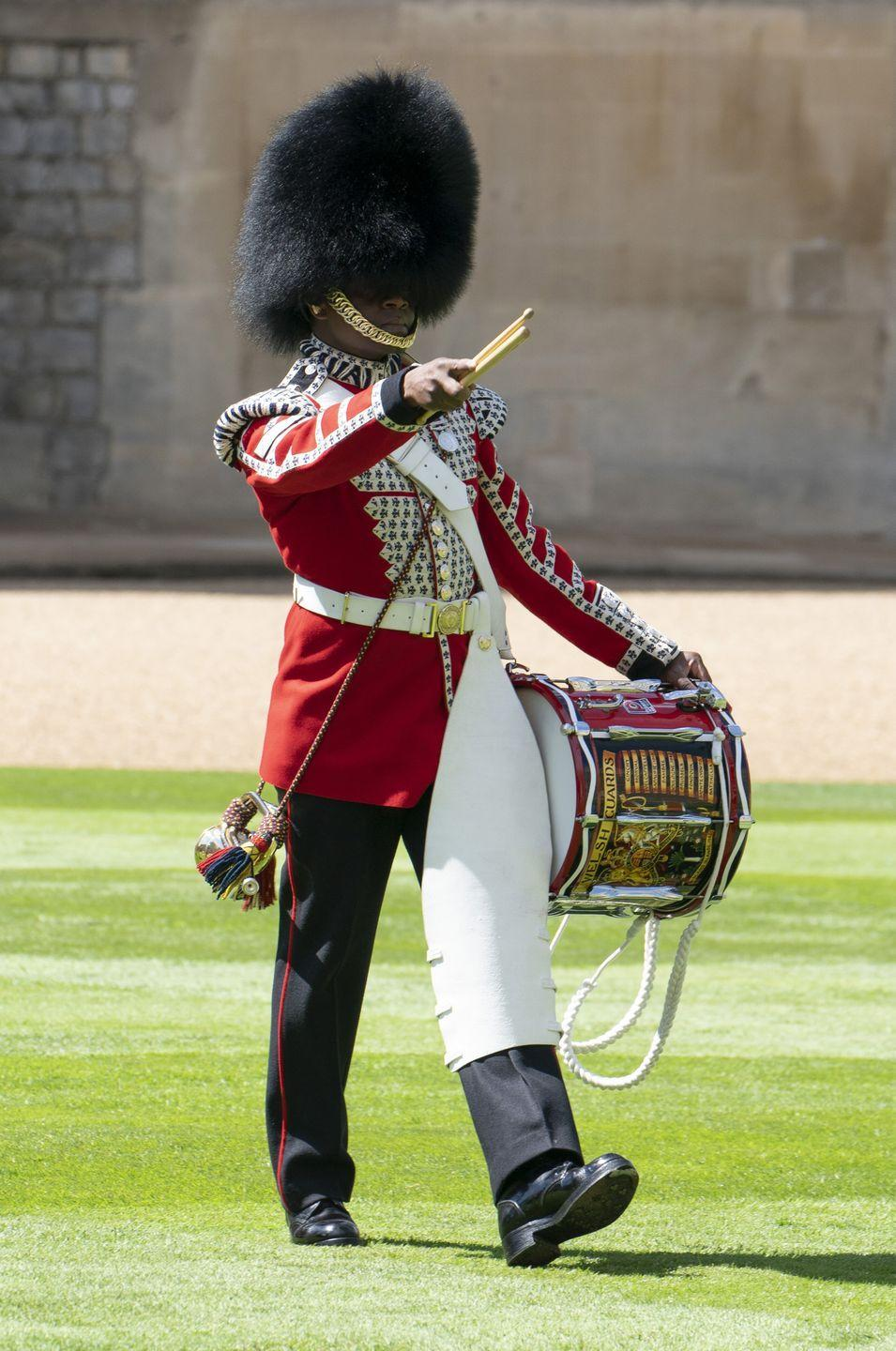 <p>The Welsh Guards carried out an incredible display in spite of social distancing measures. </p>