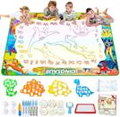 <p>Coloring on the ground is OK with this <span>Jasonwell Aqua Magic Doodle Mat</span> ($26). This water-drawing mat is designed with alphabet and number tracing patterns, a magic pen that draws on the mat, and fun stamps, rollers, and suction cups.</p>