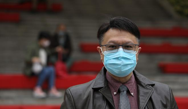Professor David Hui, who advises the government on its medical strategy. Photo: Dickson Lee