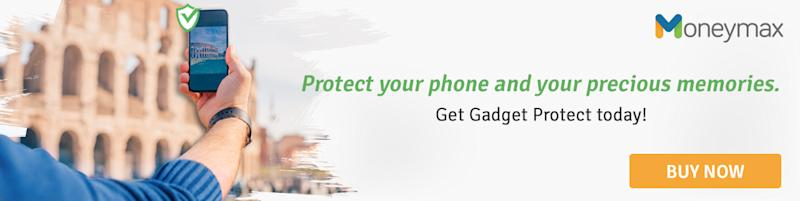 Protect your phone and your precious memories with Moneymax!
