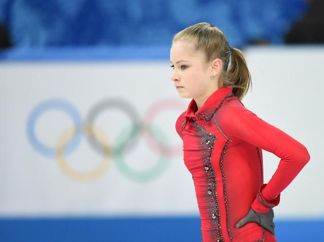 Julia Lipnitskaia's coach blames Russian media for skater's disappointing singles performance