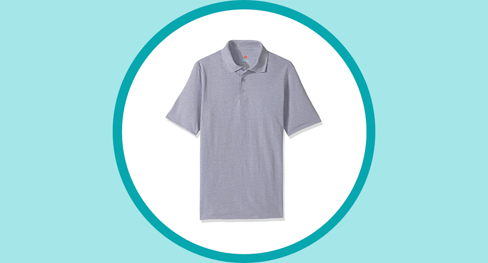 This Hanes Men's Short Sleeve X-Temp FreshIQ Polo is only $13.