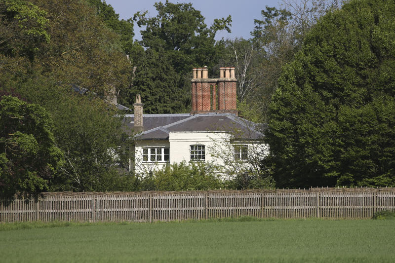 Frogmore Cottage, the home of the Duke and Duchess of Sussex,