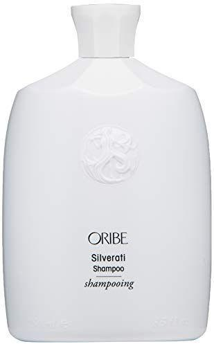 "<p><strong>ORIBE</strong></p><p>amazon.com</p><p><strong>$46.00</strong></p><p><a href=""https://www.amazon.com/dp/B084DW1VZM?tag=syn-yahoo-20&ascsubtag=%5Bartid%7C2164.g.34441514%5Bsrc%7Cyahoo-us"" rel=""nofollow noopener"" target=""_blank"" data-ylk=""slk:Shop Now"" class=""link rapid-noclick-resp"">Shop Now</a></p><p>It's not cheap, but this luxurious shampoo is a good pick if you're not a big fan of violet-hued color-correcting shampoos for your grays. It lives up to its name by touting a silver tone to match your beautiful locks! </p>"