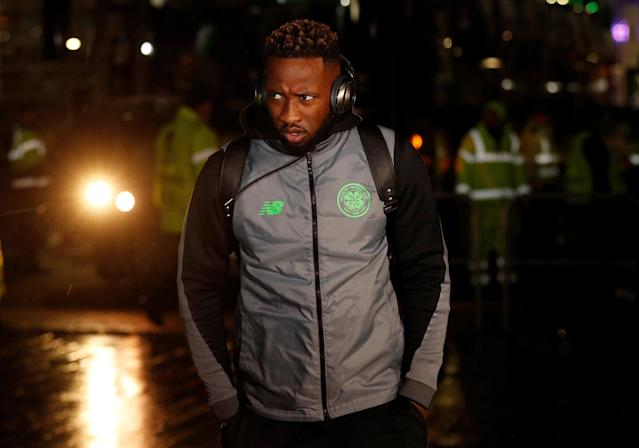 Soccer Football - Europa League Round of 32 First Leg - Celtic vs Zenit Saint Petersburg - Celtic Park, Glasgow, Britain - February 15, 2018 Celtic's Moussa Dembele before the match Action Images via Reuters/Lee Smith