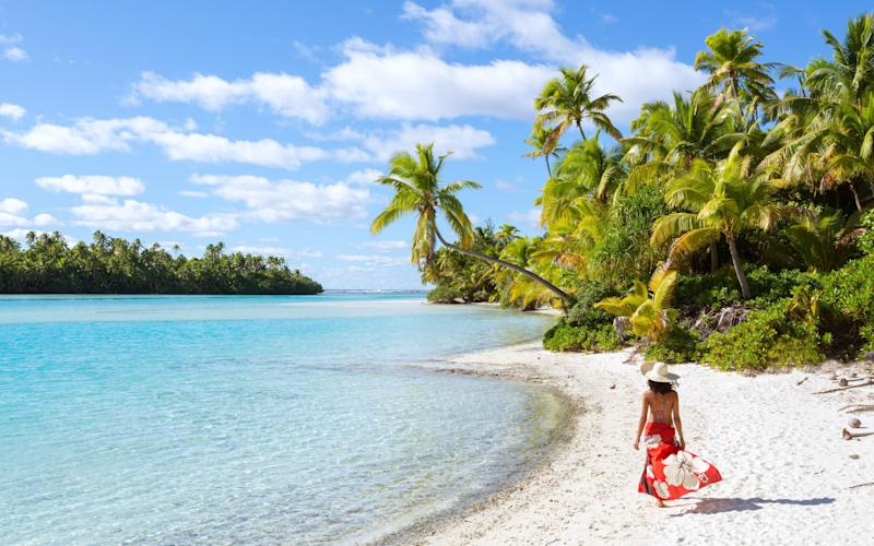 Easy to see why New Zealand might want to travel to the Cook Islands - getty
