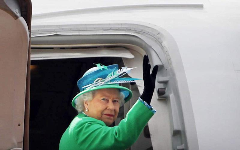 Britain's best-travelled monarch - by far - 2011 Getty Images