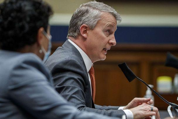 PHOTO: Dr. Richard Bright, former director of the Biomedical Advanced Research and Development Authority, testifies for a House Energy and Commerce Subcommittee on Health hearing, May 14, 2020, in Washington DC. (Shawn Thew-Pool/Getty Images)