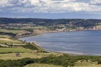 "<p>Robin Hood's Bay is a picturesque village with a nice selection of pubs and cafés. Dogs are allowed all year round on the beach. The broad sands will give your hound the space it needs to go for a sprint and a paddle.</p><p><strong>Where to stay:</strong> <a href=""https://www.booking.com/hotel/gb/blacksmiths-boutique-b-amp-b.en-gb.html?aid=2070935&label=dog-friendly-beaches"" rel=""nofollow noopener"" target=""_blank"" data-ylk=""slk:Blacksmiths Boutique B&B"" class=""link rapid-noclick-resp"">Blacksmiths Boutique B&B</a> offers 6 individually themed rooms set in the North Yorkshire Moors National Park, although only one room allows dogs so it's worth booking early. Expect fresh milk, homemade biscuits and slippers whichever room you say in though.</p><p><a class=""link rapid-noclick-resp"" href=""https://go.redirectingat.com?id=127X1599956&url=https%3A%2F%2Fwww.booking.com%2Fhotel%2Fgb%2Fblacksmiths-boutique-b-amp-b.en-gb.html%3Faid%3D2070935%26label%3Ddog-friendly-beaches&sref=https%3A%2F%2Fwww.countryliving.com%2Fuk%2Ftravel-ideas%2Fdog-friendly%2Fg35163642%2Fdog-friendly-beaches%2F"" rel=""nofollow noopener"" target=""_blank"" data-ylk=""slk:CHECK PRICES"">CHECK PRICES</a></p><p><strong>We want to help you stay inspired. <a href=""https://hearst.emsecure.net/optiext/optiextension.dll?ID=7YU7qVoYVtfwDQ9FRmu13FlJO1voc2zWFpXEkCOg3fHM93yYTOZhzXhAkCYFJ0k4z8Lej9Pfnfdp7K"" rel=""nofollow noopener"" target=""_blank"" data-ylk=""slk:Sign up"" class=""link rapid-noclick-resp"">Sign up</a> for the latest travel tales and to hear about our financially protected escapes and bucket list adventures.</strong></p><p><a class=""link rapid-noclick-resp"" href=""https://hearst.emsecure.net/optiext/optiextension.dll?ID=7YU7qVoYVtfwDQ9FRmu13FlJO1voc2zWFpXEkCOg3fHM93yYTOZhzXhAkCYFJ0k4z8Lej9Pfnfdp7K"" rel=""nofollow noopener"" target=""_blank"" data-ylk=""slk:SIGN UP"">SIGN UP</a></p>"