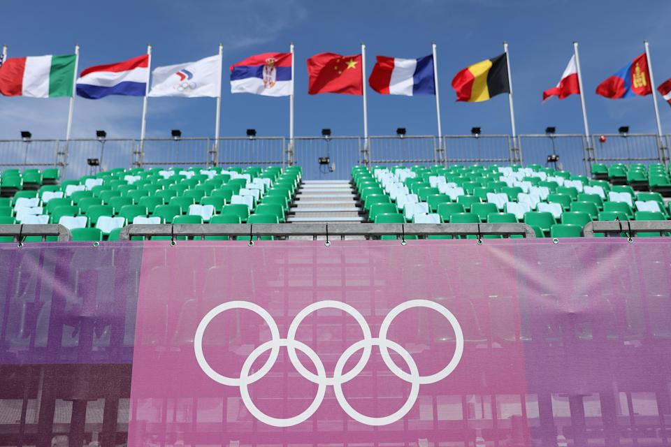 The Olympics have arrived. (Photo by Christian Petersen/Getty Images)