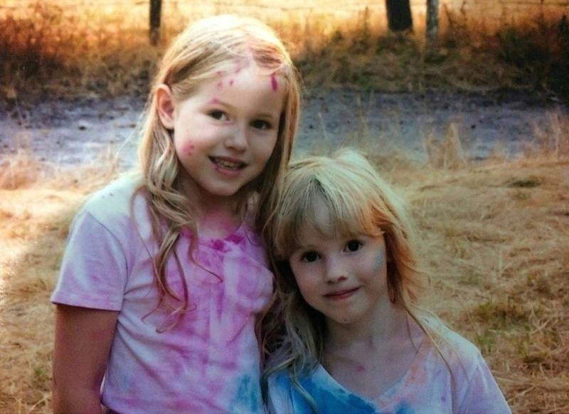 Leia Carrico, 8, left, and her sister Caroline Carrico, 5, were found Sunday morning after going missing Friday afternoon. A search team found them in a forested area near their home in Benbow, a small community about 200 miles northwest of Sacramento.
