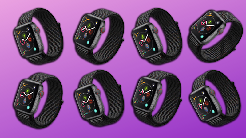 Save $100 on the Apple Watch Series 4. (Photo: Walmart/Yahoo Lifestyle)