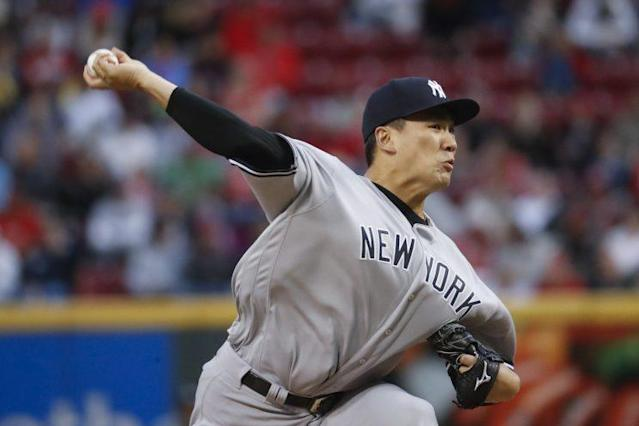 Masahiro Tanaka hasn't hit his stride just yet. (AP Photo)