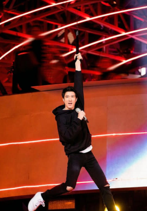 Leehom is obviously elated with the success of his app.
