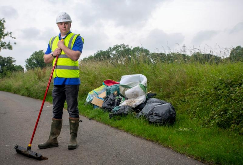 Founder Martin Montague aims to clear up the country: ClearWaste