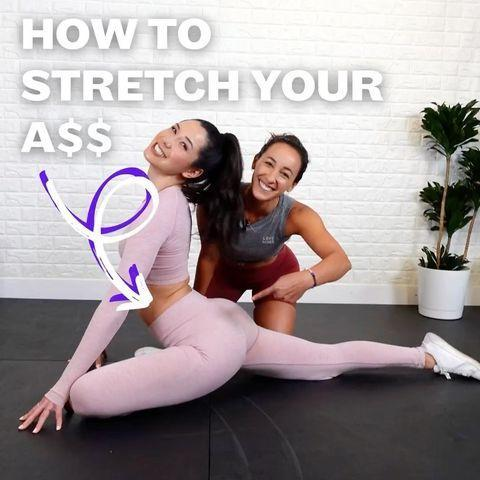 """<p>If you prefer to move while you stretch then a dynamic pigeon might be more up your street. Pick whichever level feels suitable for you and try to make it a regular thing – you'll be moving up to the harder progressions before you know it. </p><p><a href=""""https://www.instagram.com/p/CLZuc7YBaI5/?utm_source=ig_embed&utm_campaign=loading"""" rel=""""nofollow noopener"""" target=""""_blank"""" data-ylk=""""slk:See the original post on Instagram"""" class=""""link rapid-noclick-resp"""">See the original post on Instagram</a></p>"""