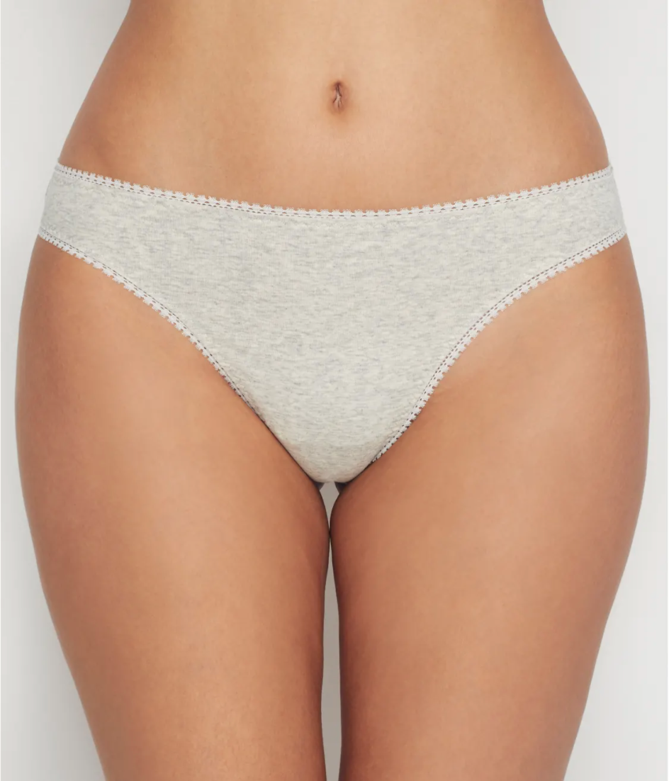 """<h3><strong>On Gossamer</strong> Cotton Cabana Hip-G Thong</h3><br><br><strong>Best """"Spendy"""" Cotton Thong</strong><br><br>If you're in the market for a premium cotton thong, look no further that On Gossamer's Pima iteration. The brand is known for their top-notch butt floss, and the Cabana is no exception. In the words of one reviewer, these undies are spendy — and worth every penny.<br><br><strong>The Hype:</strong> 5 out of 5 stars; 9 reviews on <a href=""""https://fave.co/34B4hlX"""" rel=""""nofollow noopener"""" target=""""_blank"""" data-ylk=""""slk:BareNecessities.com"""" class=""""link rapid-noclick-resp"""">BareNecessities.com</a><br><br><strong>What They Are Saying:</strong> """"I was looking for COMFORTABLE thongs made of cotton to wear while working out and in general. These are perfect. I'm back to order more."""" — HankM, BareNecessities.com reviewer<br><br><strong>OnGossamer</strong> Cotton Cabana Low Rise Hip G Thong, $, available at <a href=""""https://go.skimresources.com/?id=30283X879131&url=https%3A%2F%2Ffave.co%2F34B4hlX"""" rel=""""nofollow noopener"""" target=""""_blank"""" data-ylk=""""slk:Bare Necessities"""" class=""""link rapid-noclick-resp"""">Bare Necessities</a>"""