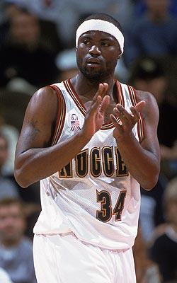 Isaiah Rider's career ended in November 2001 when the Nuggets waived him after 10 games