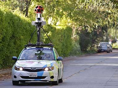 Google denied the access to launch Street View service in India