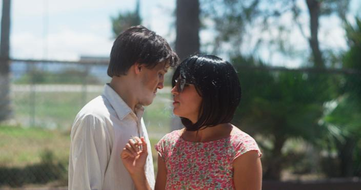"""Gabino Rodriguez (left) and Luisa Pardo star in """"Fauna,"""" a Mexican comedy with a meta detective noir story-within-a-story."""