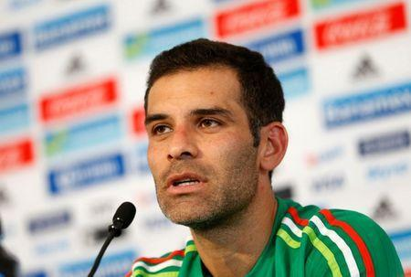 FILE PHOTO: Football Soccer - Mexico news conference - USA 2016 Centennial Copa America - Mexico City, Mexico - 24/05/16. Mexico's defender Rafael Marquez attends a news conference. REUTERS/Henry Romero Picture Supplied by Action Images
