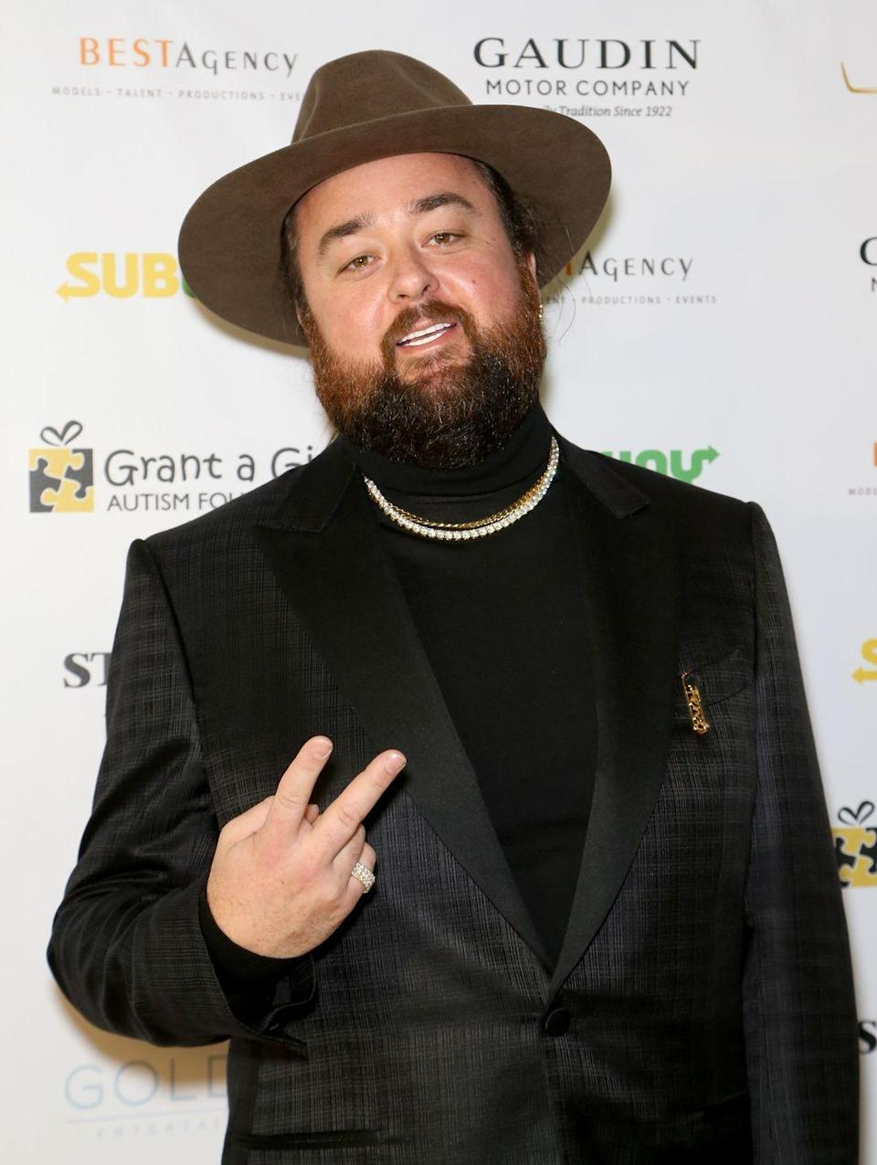 """<p> """"It was time for me to get healthy,"""" Austin told <em><a href=""""https://people.com/tv/pawn-stars-corey-harrison-192-pound-weight-loss/"""" rel=""""nofollow noopener"""" target=""""_blank"""" data-ylk=""""slk:People"""" class=""""link rapid-noclick-resp"""">People</a></em>. """"I started at 320 pounds and now I'm down to 225. When I first began, I eliminated all processed foods except mustard. Now, 'everything in moderation' is my motto.""""</p>"""