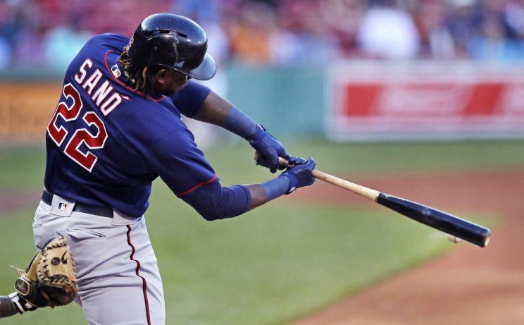 Twins third baseman Miguel Sano could be a sleeper in the Home Run Derby. (AP Photo)