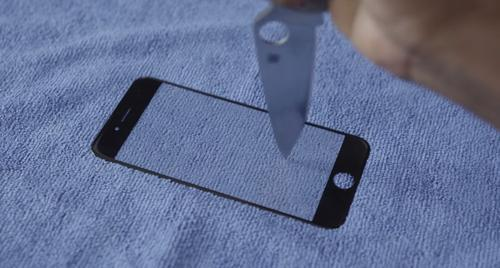 Screenshot from video about sapphire glass