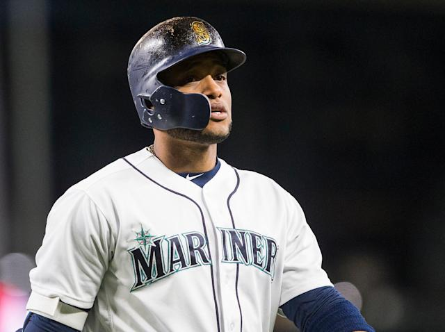 "<a class=""link rapid-noclick-resp"" href=""/mlb/players/7497/"" data-ylk=""slk:Robinson Cano"">Robinson Cano</a> was suspended Tuesday, and is not playoff-eligible for 2018 (AP)"