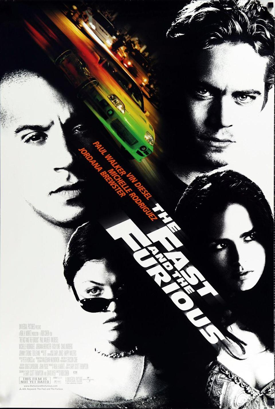 <p>Who knew illegal street racing could be so much fun to watch. Dominic Toretto (Vin Diesel) is a pro at street racing and takes Brian (Paul Walker) under his watch to become one too. The problem? He's an undercover cop. Released on June 22, 2001, the franchise has seen great success but is supposedly coming to an end with the upcoming 11th film. </p>