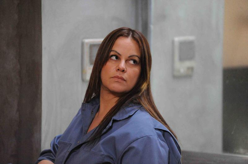"""This publicity photo provided by Pantelion Films shows Jenni Rivera as Maria Tonorio in a scene from the film, """"Filly Brown."""" The film releases on April 19, 2013. (AP Photo/Pantelion Films/Lionsgate, John Castillo)"""