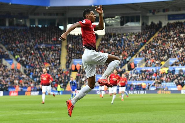 Marcus Rashford's confidence has surged since Ole Gunnar Solskjaer took charge of Manchester United (AFP Photo/Ben STANSALL)