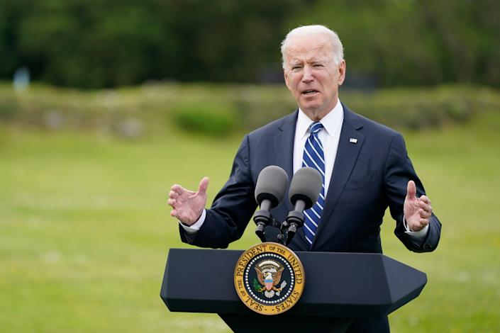 Biden's government have said they will give Ukraine an additional $125 million  (AP)