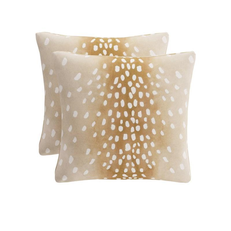 """<a rel=""""nofollow noopener"""" href=""""https://rstyle.me/n/c7ermhchdw"""" target=""""_blank"""" data-ylk=""""slk:Throw Pillow in Fawn, The Inside, $89""""I love a new pillow program, it's like an instant redecoration! For the fall, I'm loving the combination of our throw pillows in Bittersweet, Moss Velvet and our Fawn pattern."""""""" class=""""link rapid-noclick-resp"""">Throw Pillow in Fawn, The Inside, $89<p>""""I love a new pillow program, it's like an instant redecoration! For the fall, I'm loving the combination of our throw pillows in Bittersweet, Moss Velvet and our Fawn pattern.""""</p> </a>"""
