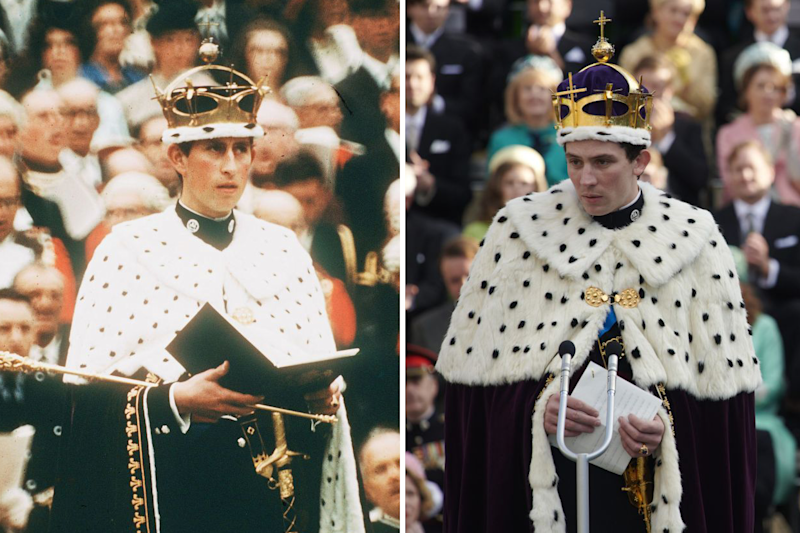 Josh O'Connor is shown playing Prince Charles in The Crown, the real Prince of Wales had his investiture in 1969.