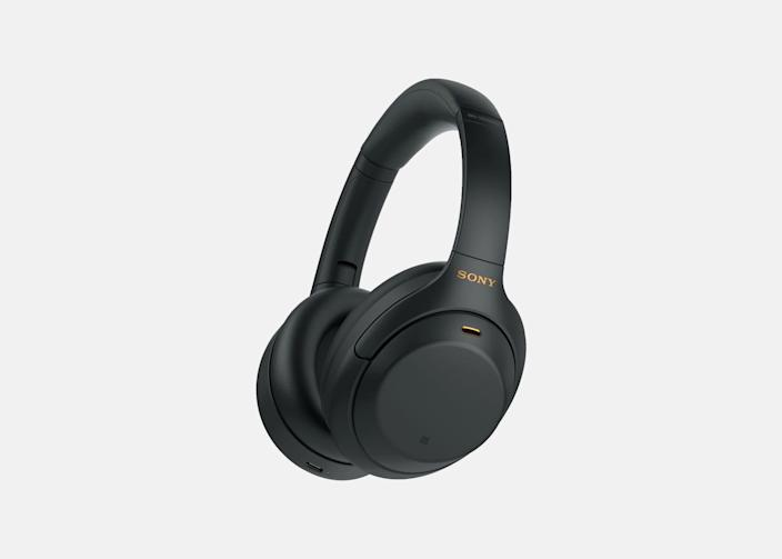 """<p>When we reviewed the Sony WH-1000XM3 Noise-Canceling Headphones upon their release in 2018, we wrote, """"it's actually hard to imagine this technology getting any better."""" """"Challenge accepted,"""" said Sony. The next generation of their industry-leading headphones, the WH-1000XM4s, take everything that made their predecessors so incredible, and added a handful of very useful bells and whistles. Unchanged are the whopping 30 hours of battery life, comfort that lends itself well to long-haul listening sessions, and noise-canceling technology that will drown out even the loudest seat neighbor on a flight. New features include the ability to pair to two devices at once, an auto-pause capability when the headphones are removed, and a """"Speak-to-Pause"""" feature that will pause the music when you start talking to someone. The mic array has been updated too, making for clearer phone calls. Most importantly of course, the headphones still sound incredible, rendering music the way musicians wanted you to hear it. The best did, in fact, get better. —<em>Sebastian Modak</em></p> <p><strong>Battery life:</strong> 30 hours</p> <p><strong>Hits:</strong> Superlative comfort, sound quality, and noise-canceling technology; USB-C charging; customizable ambient sound control and noise-canceling settings; multi-device Bluetooth pairing; intuitive touch controls</p> <p><strong>Misses:</strong> Expensive, especially if you're just upgrading from the previous generation</p> <p><strong>Buy now:</strong> <a href=""""https://amzn.to/32hA2Q3"""" rel=""""nofollow noopener"""" target=""""_blank"""" data-ylk=""""slk:$248 during Amazon Prime Day (originally $348), amazon.com"""" class=""""link rapid-noclick-resp"""">$248 during Amazon Prime Day (originally $348), amazon.com</a></p>"""