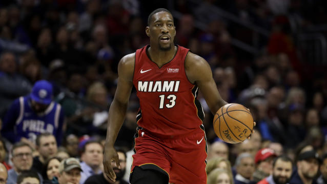 "<a class=""link rapid-noclick-resp"" href=""/nba/teams/miami/"" data-ylk=""slk:Miami Heat"">Miami Heat</a>'s <a class=""link rapid-noclick-resp"" href=""/nba/players/5010/"" data-ylk=""slk:Dion Waiters"">Dion Waiters</a> faces another suspension already this season. (AP Photo/Matt Slocum)"